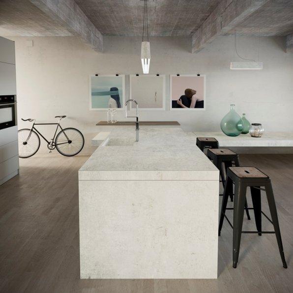 Dekton Kitchen Lunar
