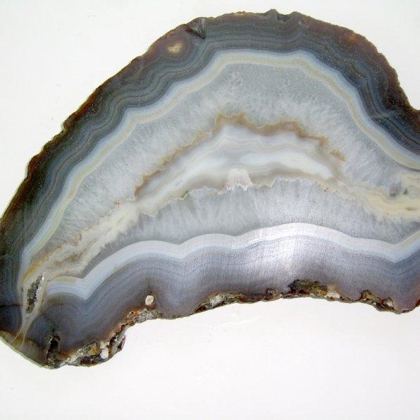 Gray agate