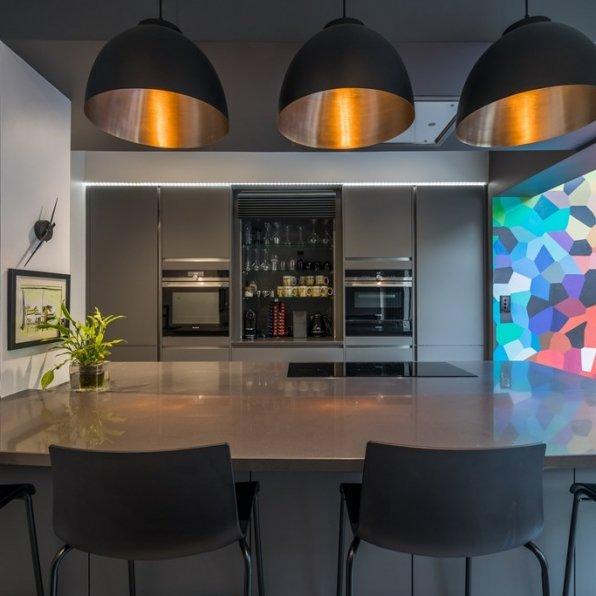 LWK Kitchens London - Silestone Marengo - cocina moderna 6