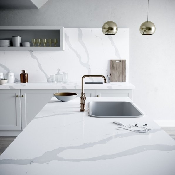 Silestone Kitchen - Bianco Calacatta
